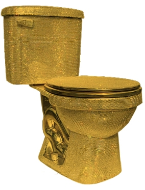 Gold Toilet_Source Uncyclopedia