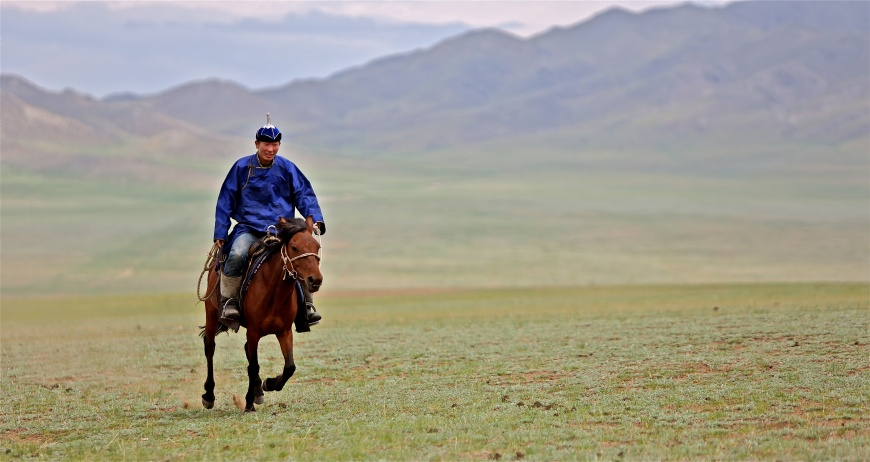 The Way to Experience Mongolia: Source Wikimedia