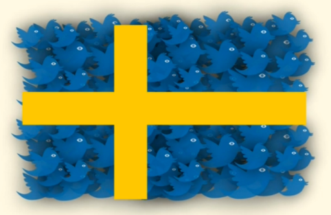 Sweden tweets. Source: Mashable.com