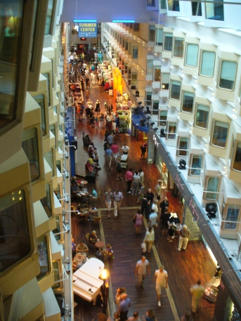 Inside the Silja cruise ship. Source: Wikimedia.
